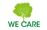Logo We care for nature